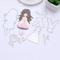 Picture of Decorative Die - Girl II