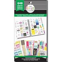 Εικόνα του Create 365 Happy Planner Sticker Value Pack - Teachers Rule Big