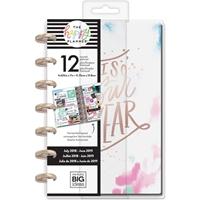 Εικόνα του Happy Planner 12-Month Dated Mini Planner - Brushy Brights