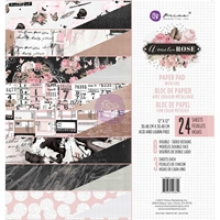 """Picture of Prima Marketing Double-Sided Paper Pad 12""""X12"""" - Amelia Rose"""