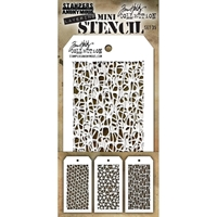 Εικόνα του Tim Holtz Mini Layered Stencil - Set 35