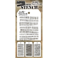 Εικόνα του Tim Holtz Mini Layered Stencil - Set 34