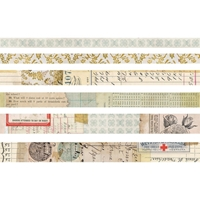Εικόνα του Idea-Ology Design Tape Set of 6 - Salvaged