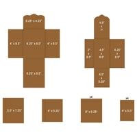 Εικόνα του Heartfelt Creations Pocket & Flipfold Inserts E-Kraft