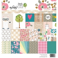 Εικόνα του Webster's Pages Paper Pad 8x8 - My Happy Place