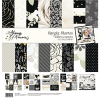 "Εικόνα του Simple Stories Scrapbooking Κιτ 12""X12""  - Always & Forever"