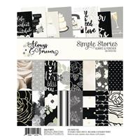 """Εικόνα του Simple Stories Μπλοκ Scrapbooking  6""""X8""""   - Always & Forever"""