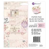 """Picture of Prima Marketing Double-Sided Paper Pad 6""""X6"""" - Love Story"""