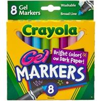Εικόνα του Crayola Gel Washable Markers - Μαρκαδόροι Πλενόμενοι