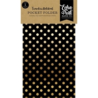 Picture of Echo Park Traveler's Notebook Insert - Coffee & Friends Pocket Folder