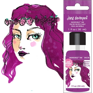 Picture of Μελάνι Jane Davenport Mixed Media 2 INKredible Scented Ink - Berrylicious