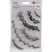 Picture of Iron Orchid Designs Decor Clear Stamps - Build A Wreath