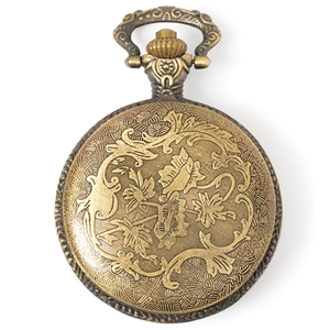 Picture of Steampunk Μεταλλικό Κρεμαστό - Watch Case Gold
