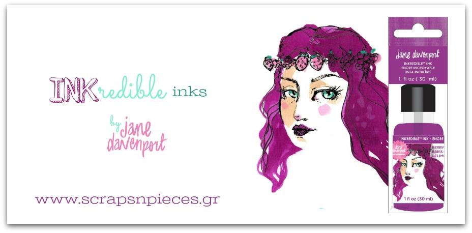 InkRedible Inks by Jane Davenport
