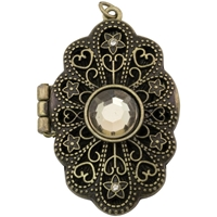 Εικόνα του Tim Holtz Assemblage Locket - Jeweled Baroque