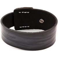 Εικόνα του Tim Holtz Assemblage Cuff Bracelet - Distressed Black