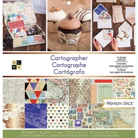 "Εικόνα του DCWV Μπλοκ Scrapbooking 12""X12"" - Cartographer"