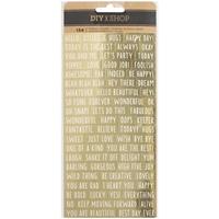 Εικόνα του DIY Shop 3 Wordfetti Stickers - Αυτοκόλλητα
