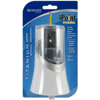 Εικόνα του Westcott iPoint Evolution Titanium Bonded Pencil Sharpener - Ηλεκτρική Ξύστρα
