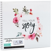 "Picture of Heidi Swapp Storyline2 Kit  12""X12"" - White Floral"