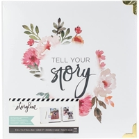 "Picture of Heidi Swapp Storyline2 Kit 8.5""X11"" - White Floral"