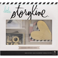 Εικόνα του Heidi Swapp Storyline2 Deck Of Days - Wedding