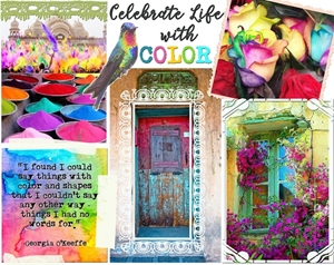 May Challenge - Celebrate Life with Color!