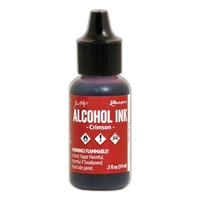 Picture of Tim Holtz Alcohol Ink - Crimson