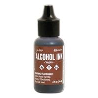 Εικόνα του Tim Holtz Alcohol Ink - Μελάνι Οινοπνεύματος - Sepia