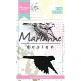 Εικόνα του Marianne Designs Σετ Σφραγίδες Cling - Tinys Birds 1