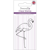 Εικόνα του Dovecraft Clear Stamp - Flamingo