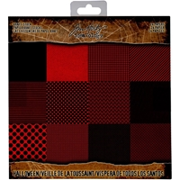 Εικόνα του Tim Holtz  Idea-ology Paper Stash 8''X8'' - Halloween Kraft