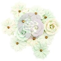 Εικόνα του Χάρτινα Λουλούδια Mulberry Santa Baby - Sweet Mint