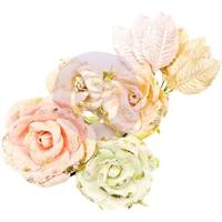 Εικόνα του Χάρτινα Λουλούδια Mulberry Santa Baby - Sugarplum Sweet