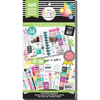 Εικόνα του Create 365 Happy Planner Sticker Value Pack - Gold Start Quotes