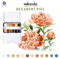 Εικόνα του Prima Marketing Watercolor Confections Σετ Ακουαρέλας - Decadent Pies