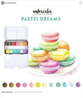 Εικόνα του Prima Marketing Watercolor Confections - Pastel Dreams