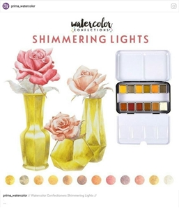 Picture of Prima Marketing Watercolor Confections - Shimmering Lights