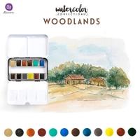 Εικόνα του Prima Marketing Watercolor Confections Σετ Ακουαρέλας - Woodlands