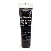 Εικόνα του Finnabair Art Alchemy Ακρυλικά Χρώματα Impasto - Pitch Black