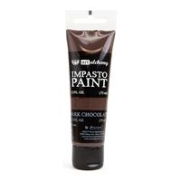 Εικόνα του Finnabair Art Alchemy Ακρυλικά Χρώματα Impasto - Dark Chocolate