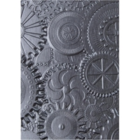 Εικόνα του Sizzix Texture Fades Embossing Folder By Tim Holtz - Mechanics