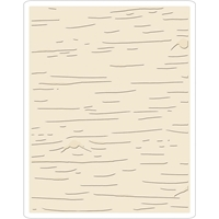 Εικόνα του Sizzix Texture Fades Embossing Folder By Tim Holtz - Birch