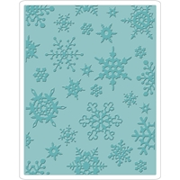 Εικόνα του Sizzix Texture Fades Embossing Folder By Tim Holtz - Simple Snowflakes