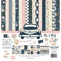 """Εικόνα του Echo Park Carina Gardner Collection Kit 12""""X12"""" - Just Married"""