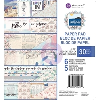 "Εικόνα του Prima Marketing Double-Sided Paper Pad 6""X6"" - Santorini"
