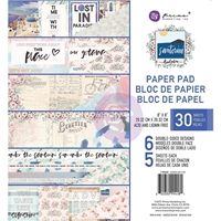 "Εικόνα του Prima Marketing Double-Sided Paper Pad 8""X8"" - Santorini"