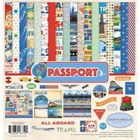 """Εικόνα του Carta Bella Collection Kit 12""""X12"""" - Passport"""