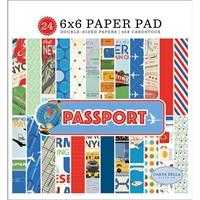 Εικόνα του Carta Bella Μπλοκ scrapbooking 15x15 cm- Passport