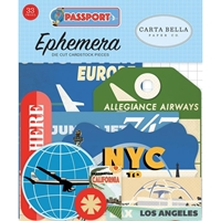 Εικόνα του Carta Bella Passport Die Cuts - Icons